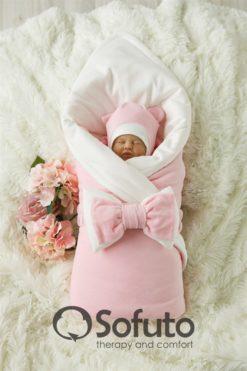 Newborn set winter (7 items) Sofuto baby Rose simple