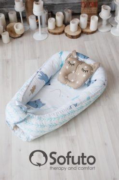 Newborn baby nest co-sleeper Sofuto Babynest Sleep dream