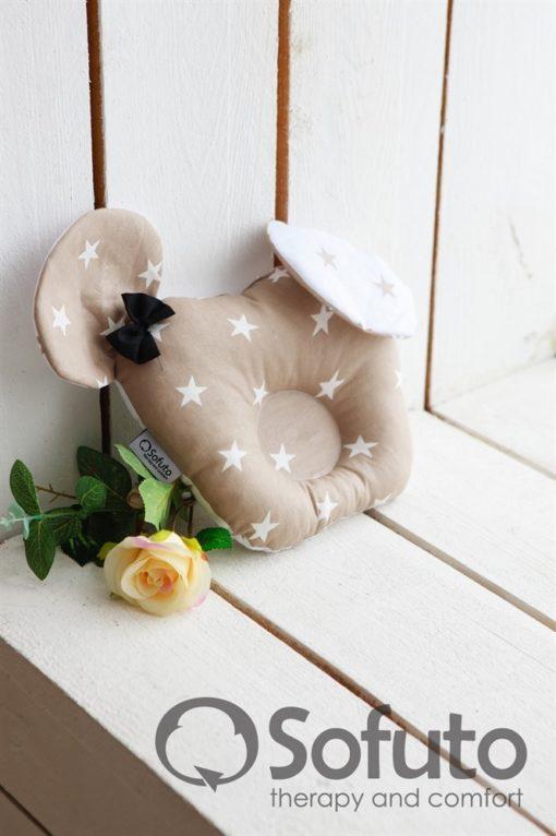 Newborn baby nest co-sleeper Sofuto Babynest Latte