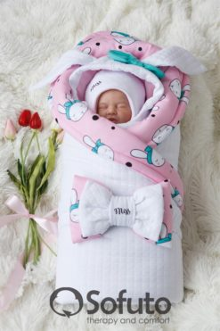 9f031ec36e03 Newborn baby spring take home outfit clothing set (6 pcs) Sofuto ...