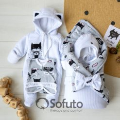 Supercat Cold winter Newborn baby coming home outfit