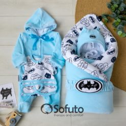 Batman Winter Newborn baby boy coming home outfit