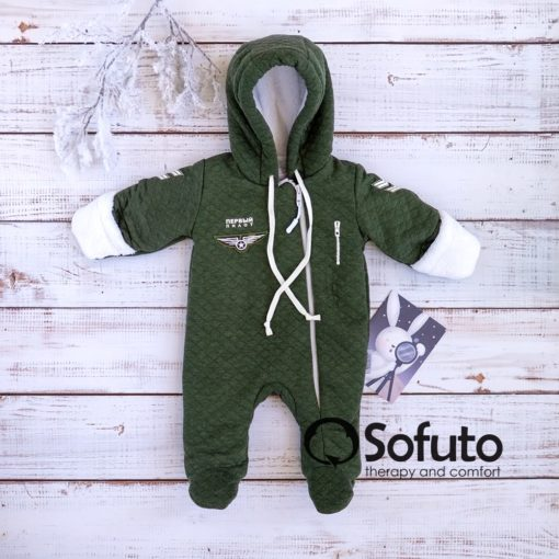 Aviator Cold winter Newborn baby boy coming home outfit